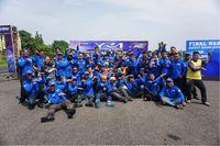Gathering nasional instruktur safety riding Yamaha Riding Academy (YRA)