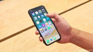Duh! Baru Dibeli, iPhone X Milik Dewi Mati Total