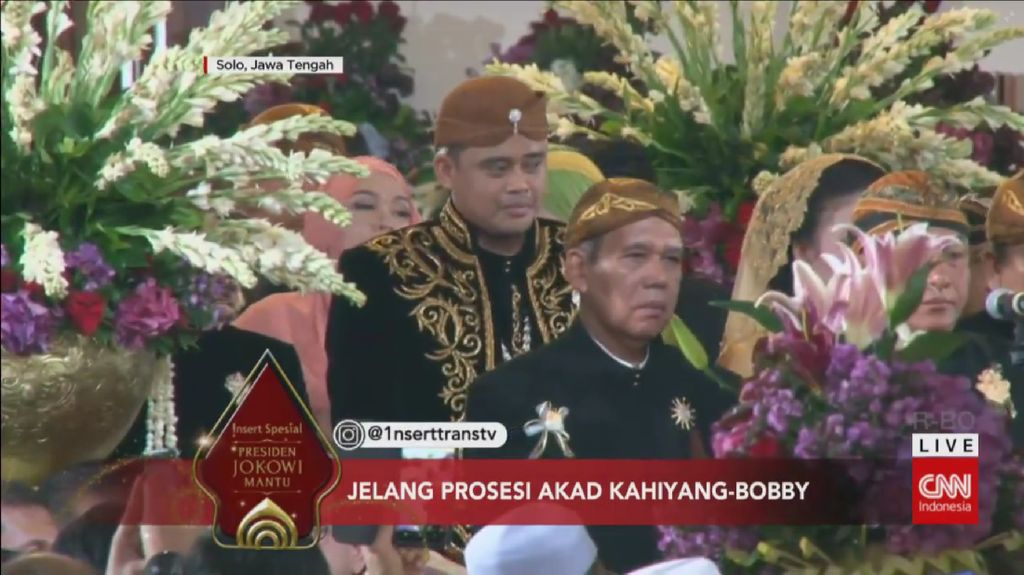 Pangkostrad Hantarkan Bobby Nasution untuk Menikah dengan Kahiyang