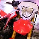 Honda CRF150L Sanggup Telan Premium