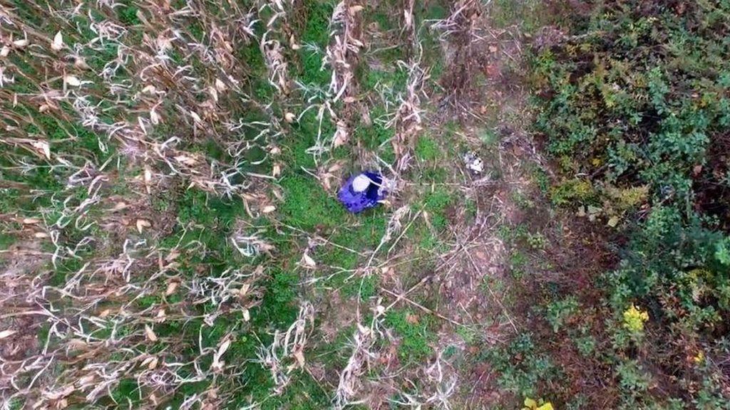 Nenek Tersesat Ditemukan dengan Drone, Ini Videonya