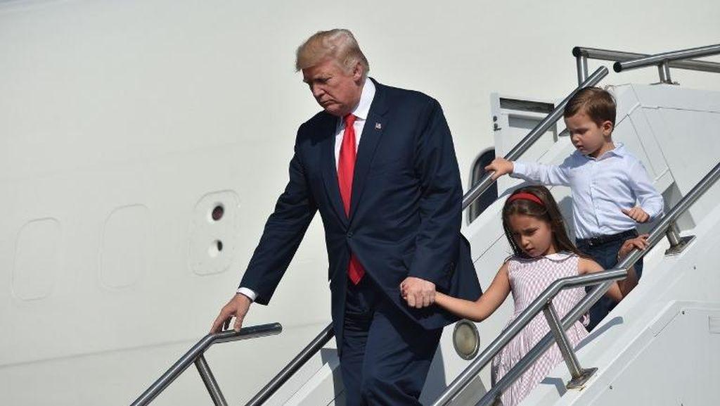 Bikin Gemes! Cucu Trump Nyanyikan Lagu Mandarin untuk Presiden Xi
