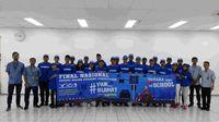 Kunjungan pabrik Yamaha di Pulogadung Jakarta Timur (Foto: dok Yamaha Indonesia)