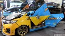 Mobil Honda Jazz dan Brio Modifikasi Adu Ganteng