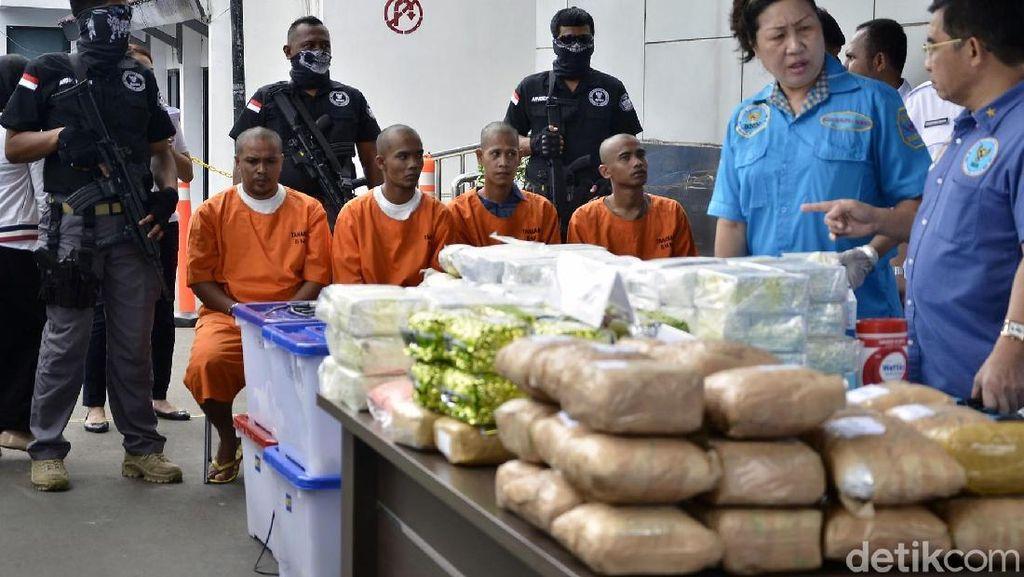 BNN Gagalkan Penyelundupan Sabu Jaringan Malaysia