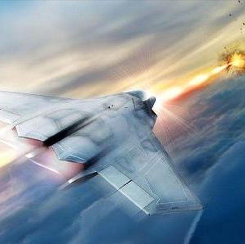 Mengerikan! AS Siapkan Jet Tempur Bersenjata Laser