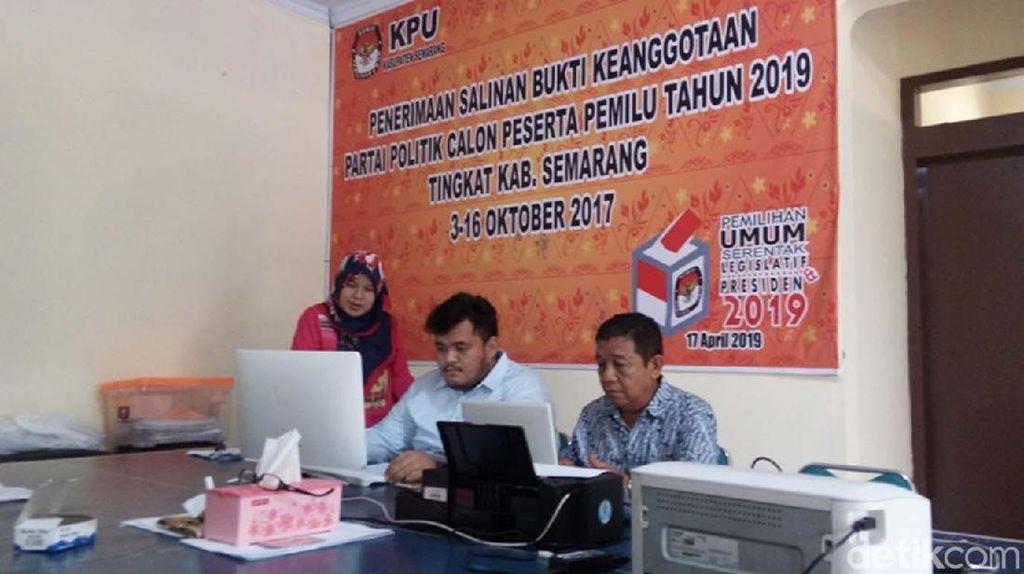 Di Kab. Semarang, Ada PNS dan TNI/Polri Namanya Dicatut Parpol