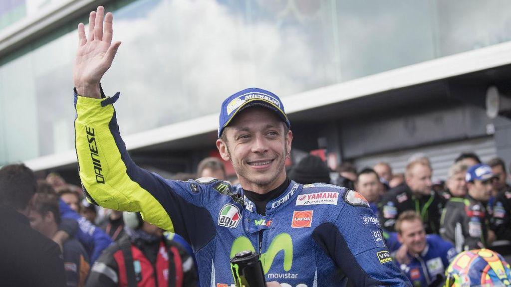 Soal Masa Pensiun, Rossi Takut Hidupnya Jadi Membosankan