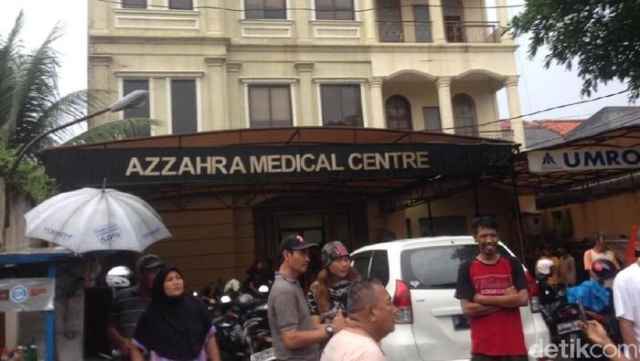 Klinik yang menjadi lokasi penembakan terhadap dr Letty (Foto: Ibnu Hariyanto/detikcom)