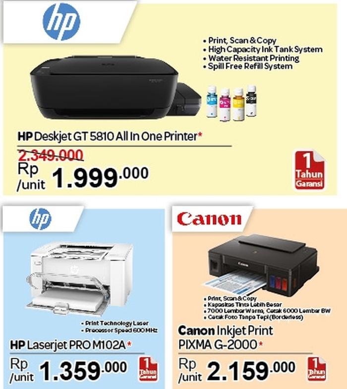 Foto: Promo Printer HP & Aksesori Komputer di Transmart Carrefour
