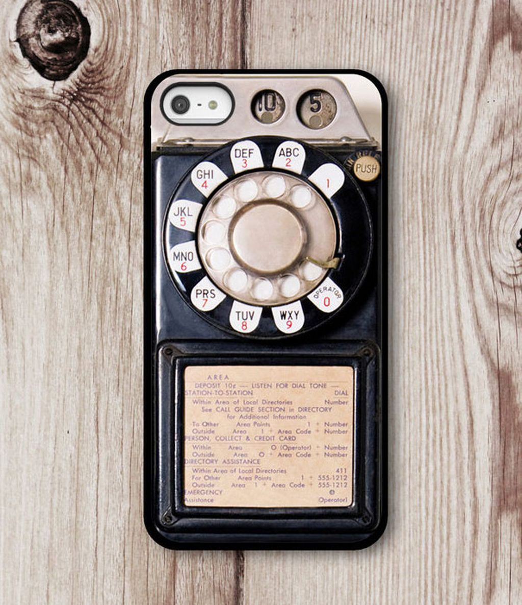 Casing seperti telepon lama. Foto: istimewa