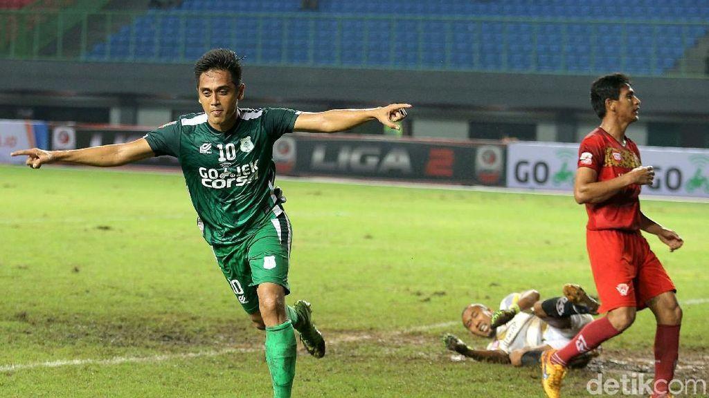 PSMS Medan Bekuk Kalteng Putra FC 2-1