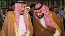 Foto: Momen Keakraban Raja Salman dan Putra Mahkota Arab Saudi
