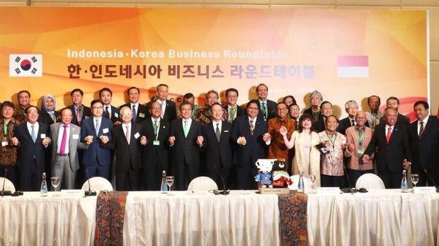 Presiden Korsel bertemu pengusaha Indonesia