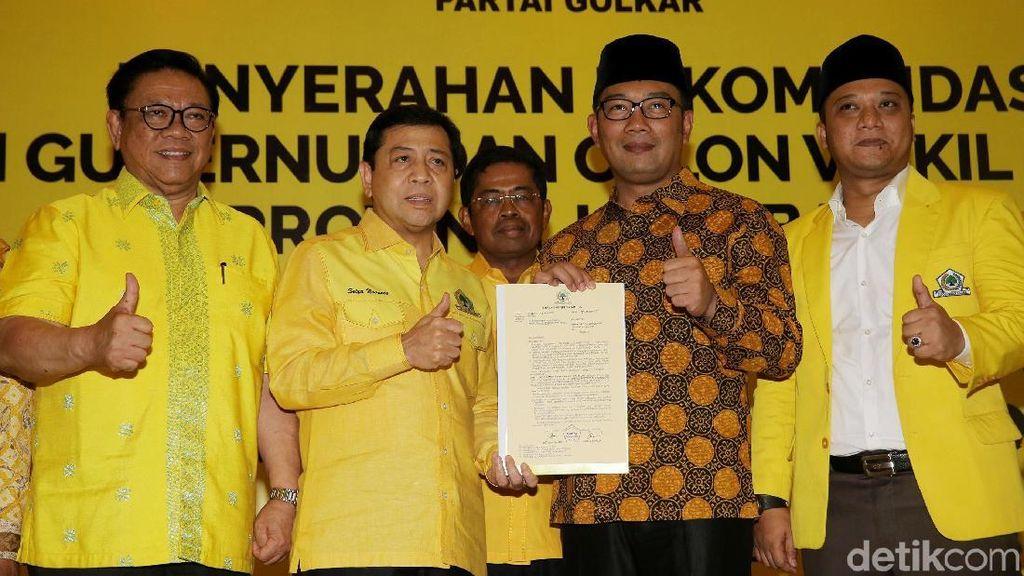 Pengamat: Golkar Berpotensi Hengkang dari Koalisi Ridwan Kamil