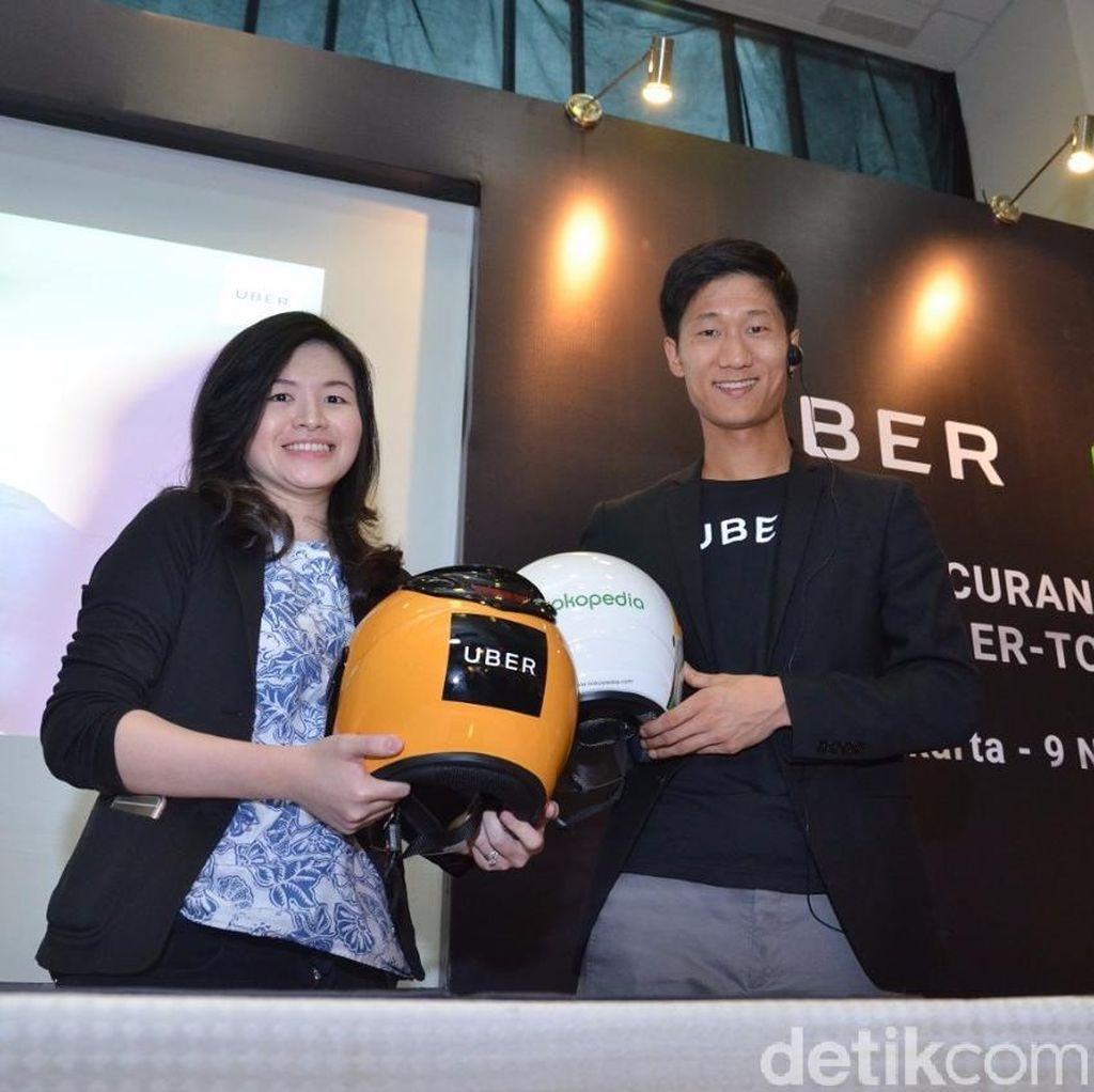 Uber dan Tokopedia Kolaborasi Bikin One Stop Shopping