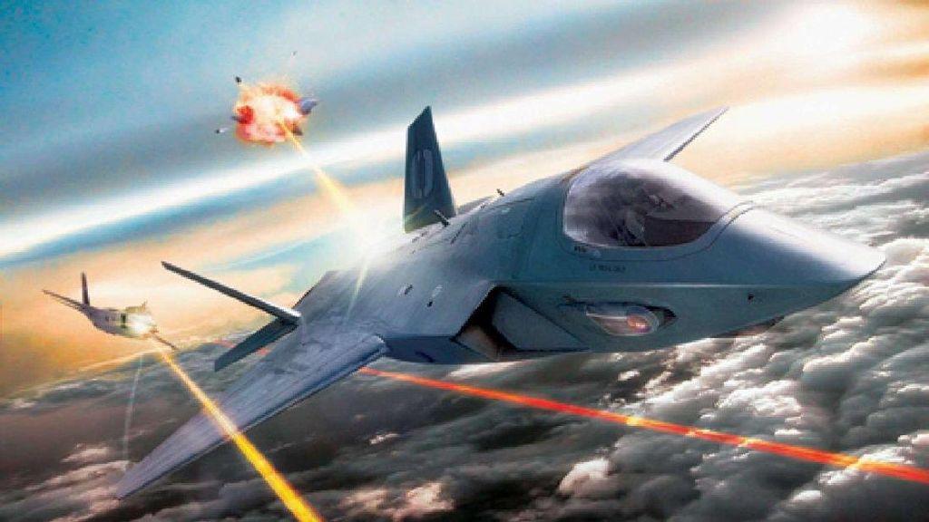 Seluk Beluk Rencana Senjata Laser di Pesawat Tempur AS