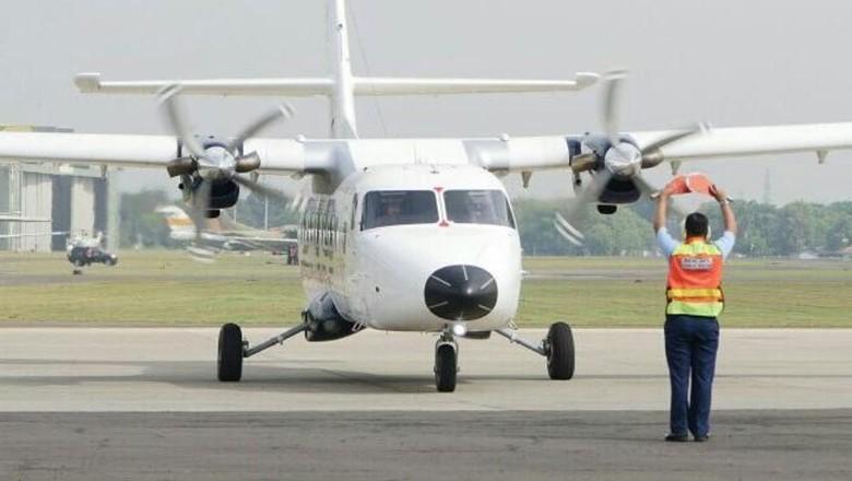 Besok Jokowi Beri Nama Pesawat N219 di Halim