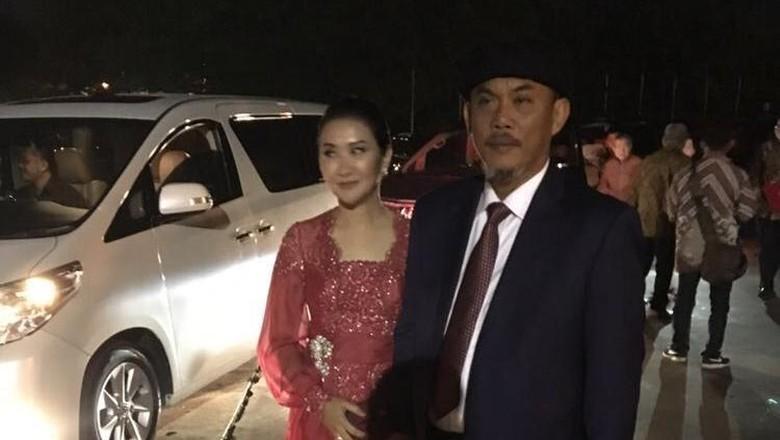 Ketua DPRD DKI Puji Jokowi - Solo Ketua DPRD DKI Prasetyo Edi Marsudi hadir dalam resepsi pernikahan putri Presiden Joko Widodo Kahiyang dengan Muhammad