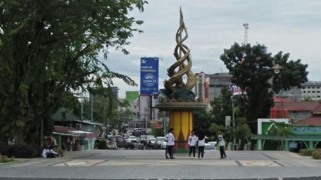 Melihat Lagi Tugu Antikorupsi di Riau yang Diwacanakan Dirobohkan