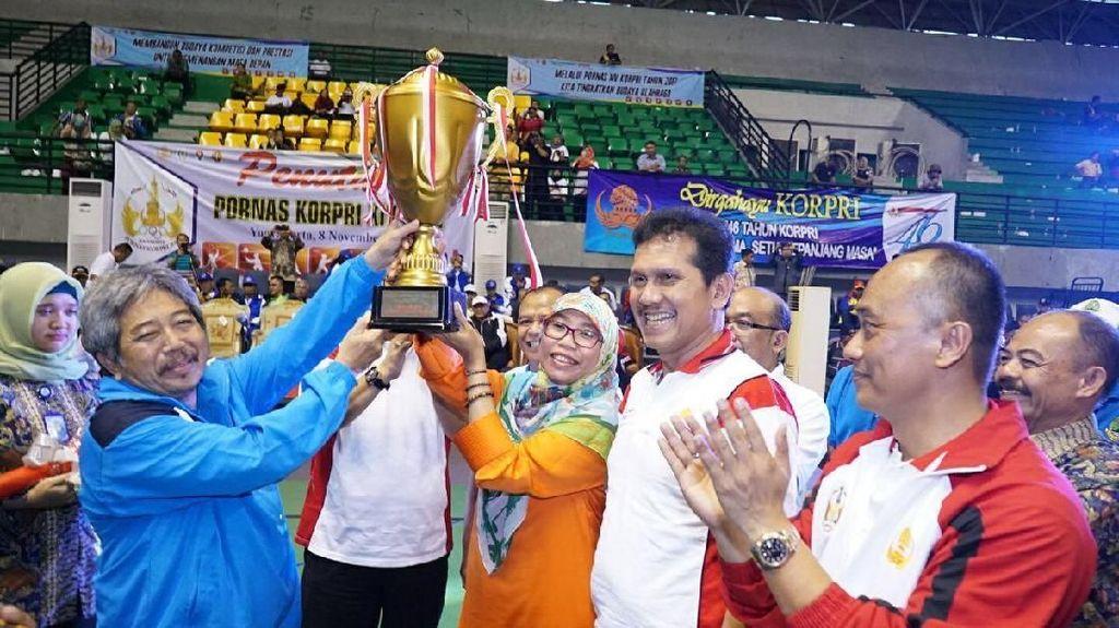 Jabar Juara Umum Kompetisi Olahraga PNS Se-Indonesia