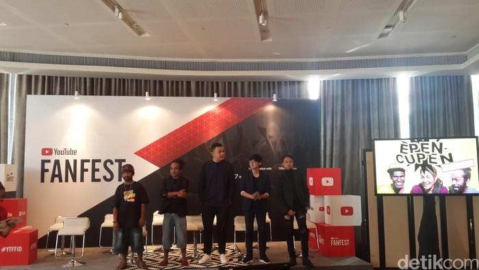 Acara YouTube Fanfest. Foto: Muhamad Imron Rosyadi/detikINET
