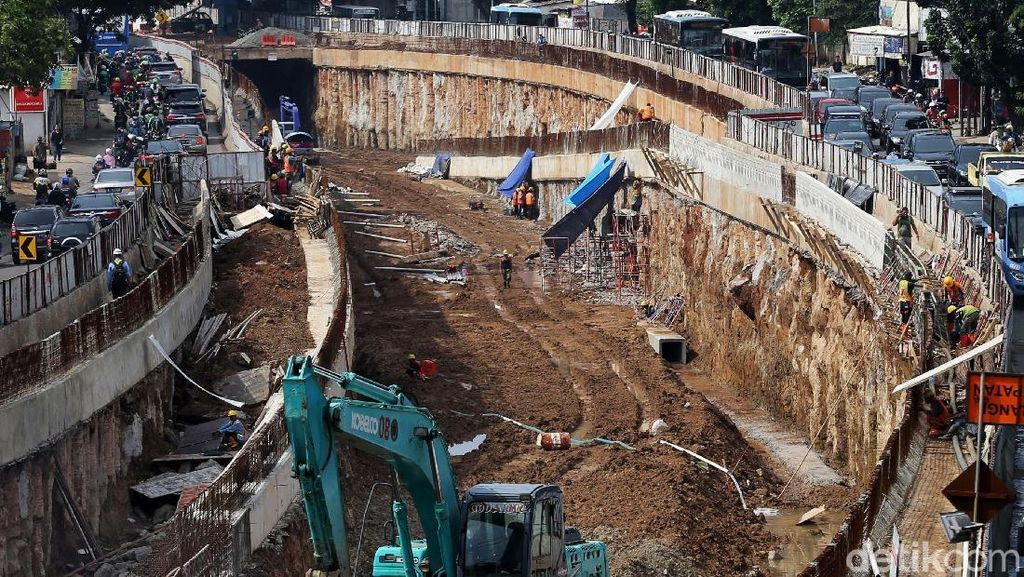 Mengintip Perkembangan Proyek Underpass Mampang