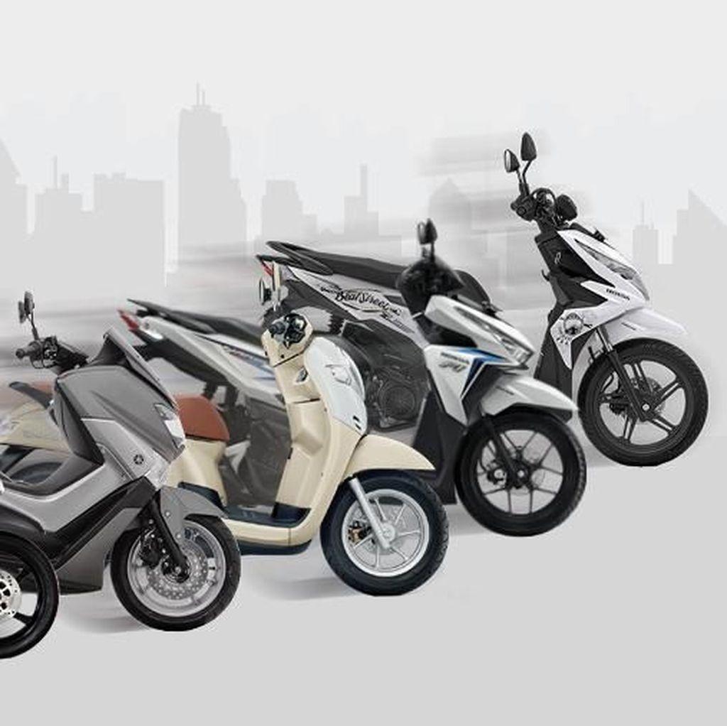 Selama 11 Bulan Sudah Ada 5,4 Juta Motor Baru di Indonesia