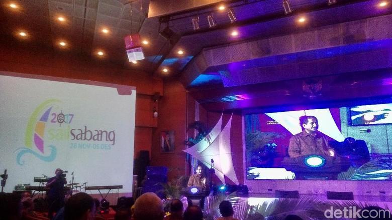 Menpar Arief Yahya saat peluncuran Sail Sabang 2017 (Syanti/detikTravel)