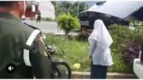 Kelakuan Kids Jaman Now Saat Ditilang, Sepak Helm hingga Maki Polisi
