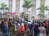 Sri Mulyani Pimpin Upacara Peringatan Hari Pahlawan di Kemenkeu