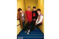 The New F4 tampil di Harper's Bazaar