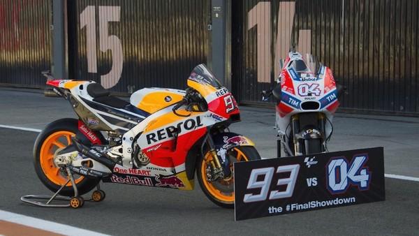 Marquez, Dovi, dan Duel Sengit Penentu Juara di Seri Terakhir MotoGP