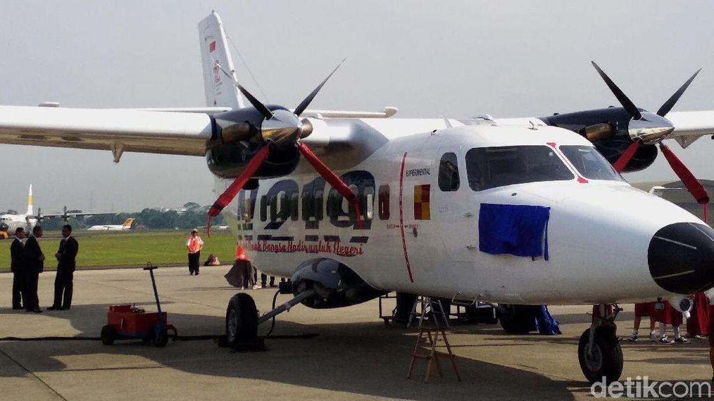Meksiko Langsung Beli Pesawat N-219 Nurtanio yang Diresmikan Jokowi