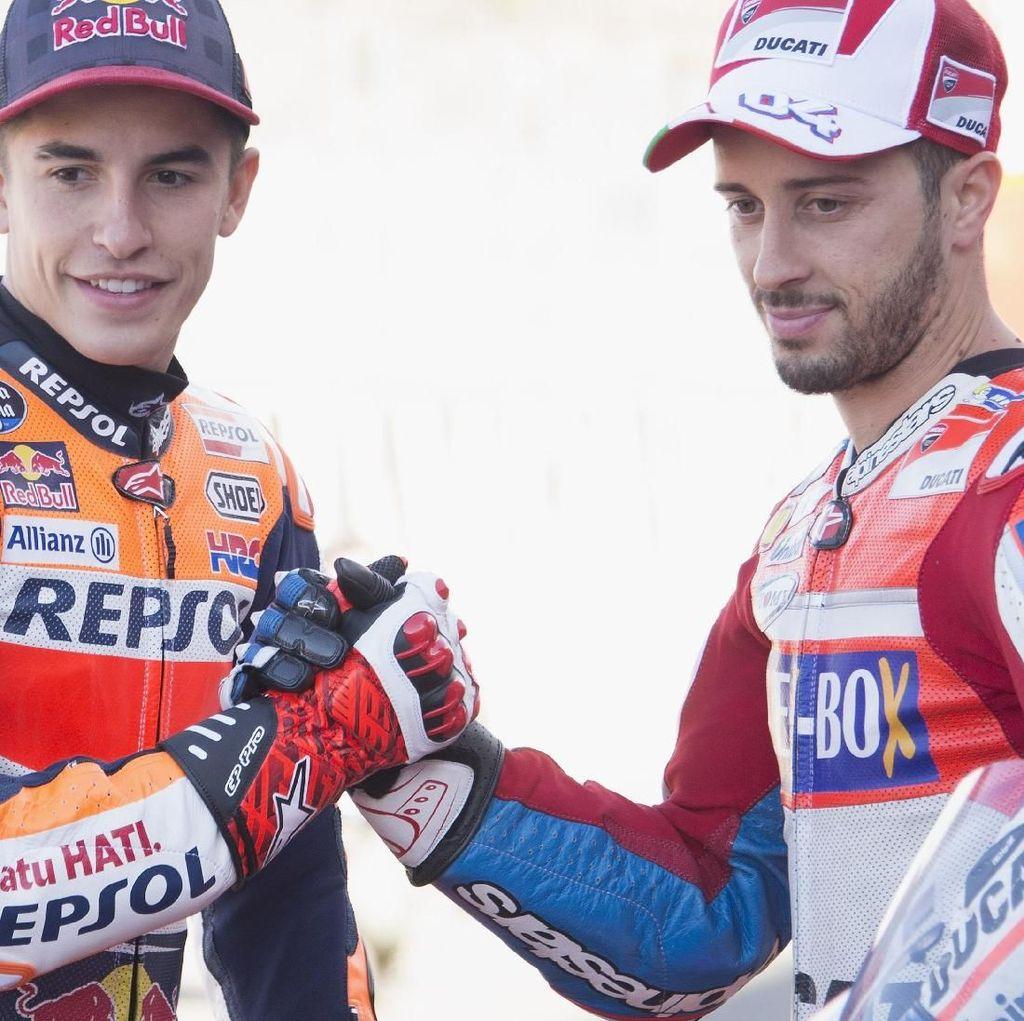 Marquez: Meremehkan Dovizioso adalah Sebuah Kesalahan