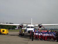 Penampakan Pesawat N219 yang Mau Diberi Nama Oleh Jokowi