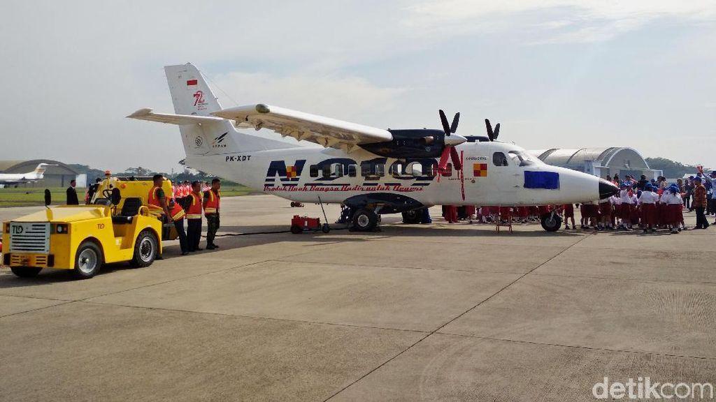 Ini Pesawat N219 yang Diberi Nama Nurtanio oleh Jokowi