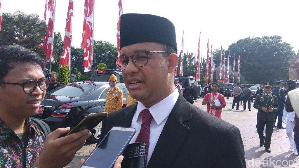Ikut Ratas dengan Jokowi, Anies Laporkan Progres Asian Games 2018