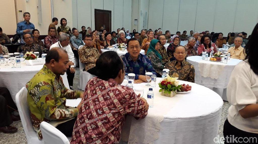 Boediono dan Para Mantan Menteri PPN Kumpul Bareng Peringati Hari Pahlawan