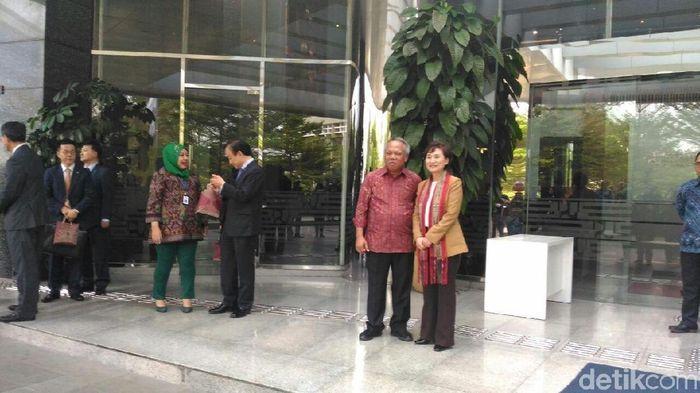 Menteri PUPR RI bersama Menteri Pertanahan, Infrastuktur dan Transport Korea Selatan, Foto: Puti Aini Yasmin