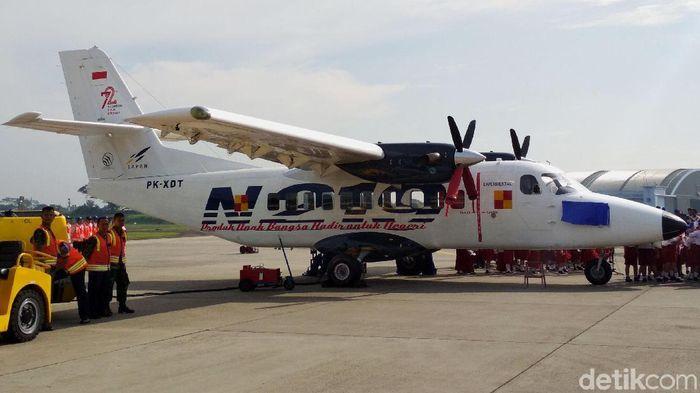 Pesawat N219 Diberi Nama Nurtanio