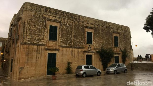 Bangunan-bangunan tua di Mdina