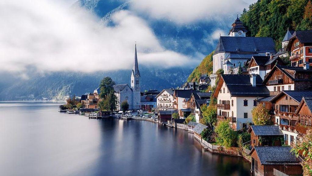 Saking Indahnya, Desa Ini Seperti Direkayasa Photoshop
