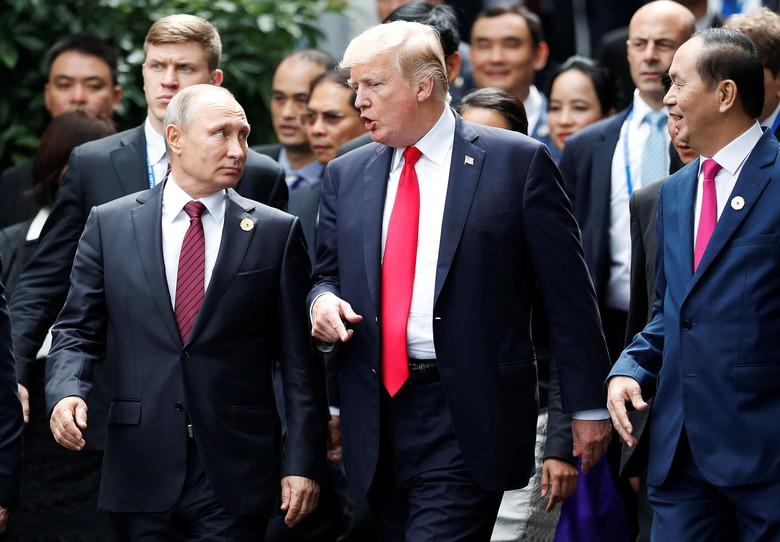 Akhirnya, Trump Ucapkan Selamat Atas Kemenangan Putin di Pilpres