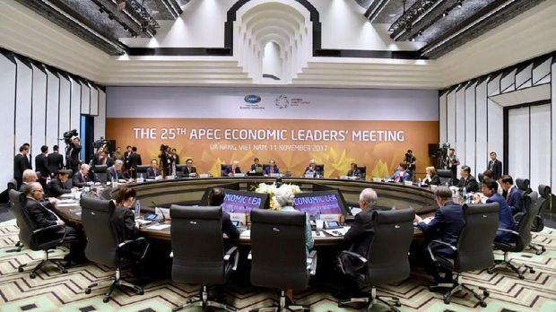 Di Forum APEC, Jokowi Bicara Soal Proteksionisme Dagang.