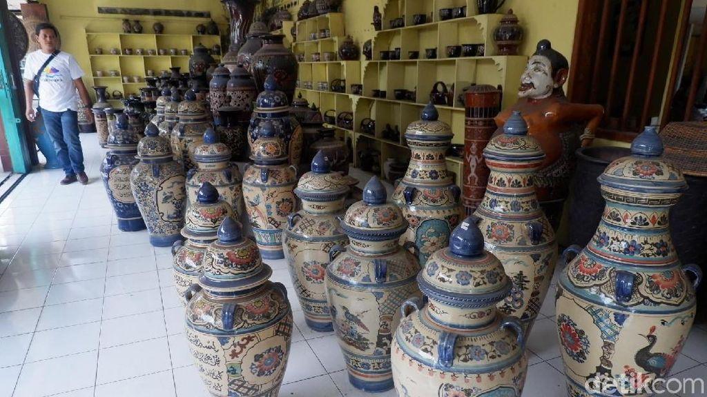 Cantiknya Keramik dari Banjarnegara yang Sudah Mendunia