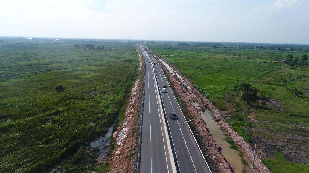Foto: Yuk Lihat Tol Trans Sumatera Pertama yang Diresmikan Jokowi