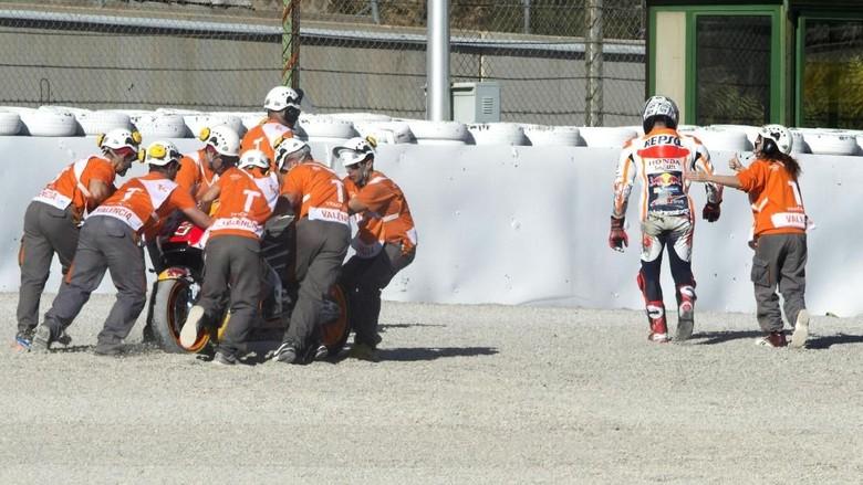 Kecelakaan Kecil Marquez di Latihan Kedua