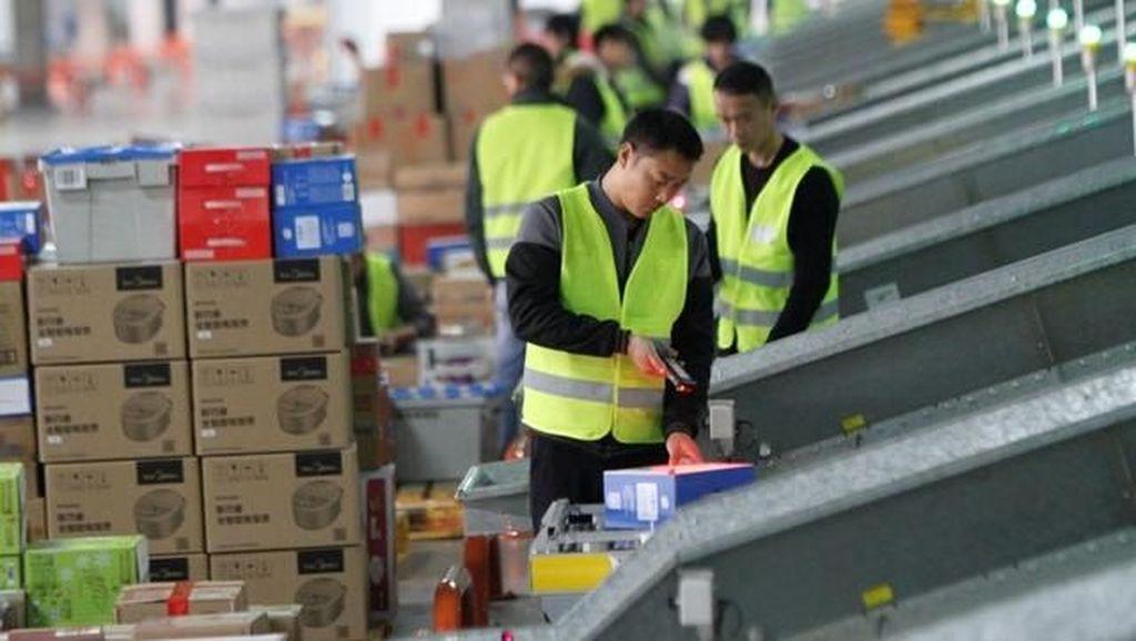 Pepet Alibaba, JD Catat Penjualan Rp 259 Triliun