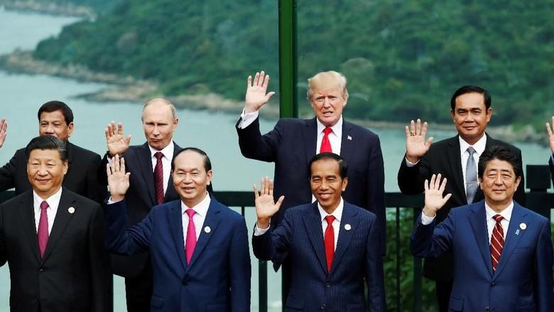 Di Forum APEC, Jokowi Bicara Soal Kesalahan Proteksionisme Dagang